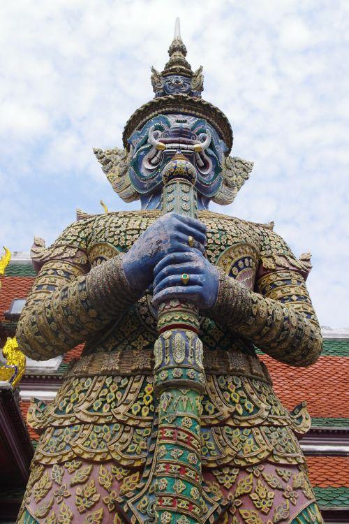 statue demon grand palace