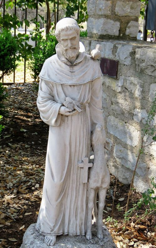 statue saint francis of assissi saint