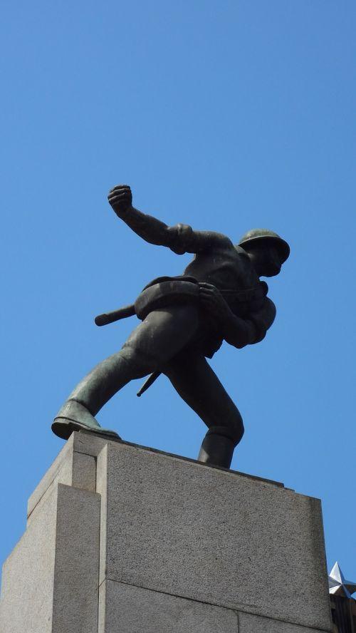 statue são carlos são paulo