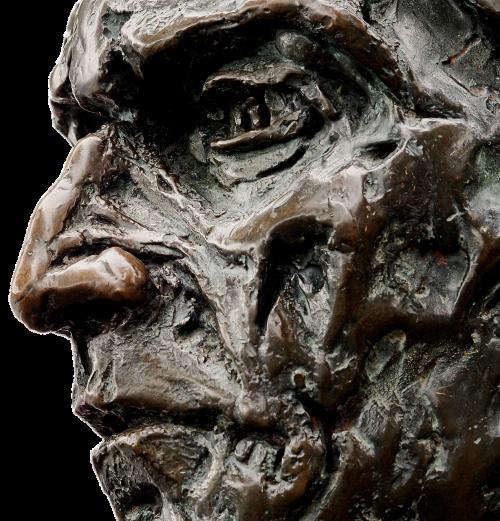 statue bronze cabot