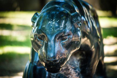 statue puma park