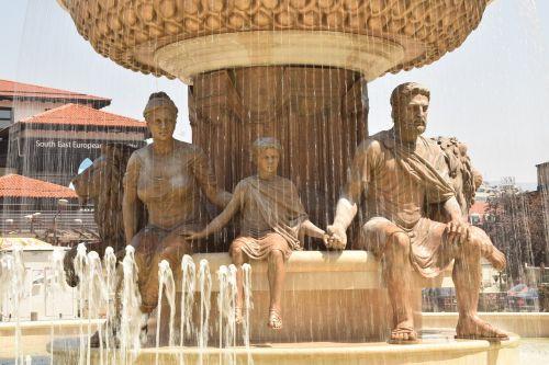 statue philip of macedon skopje
