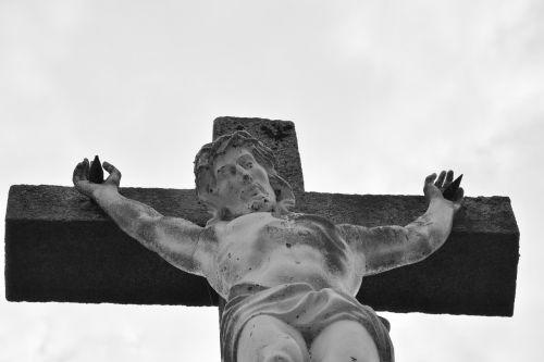 statue cross jesus christ religious monument