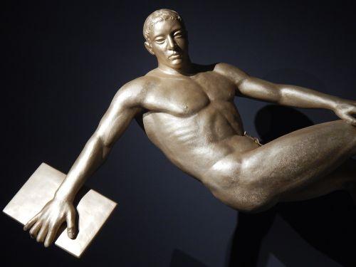 statue sculpture athletic