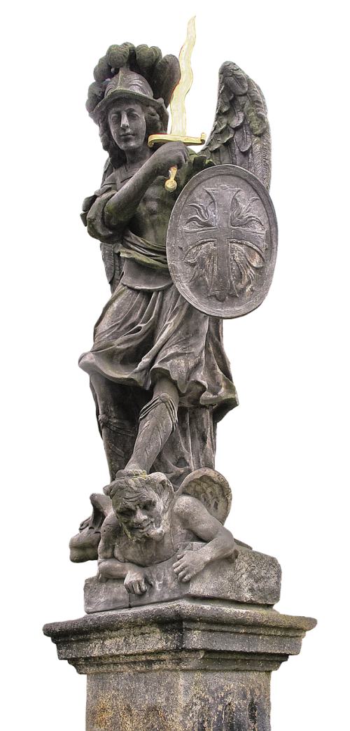 statue archangel michael