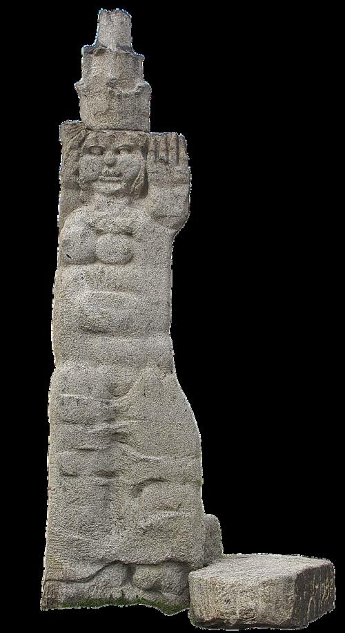 statue woman stone figure