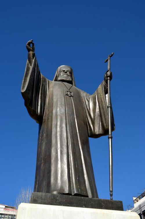 statue sky architecture