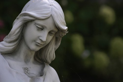 statue  woman  mystical