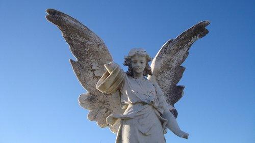 statue  angel  sculpture