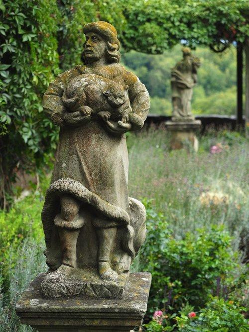 statue  antique  rothenburg