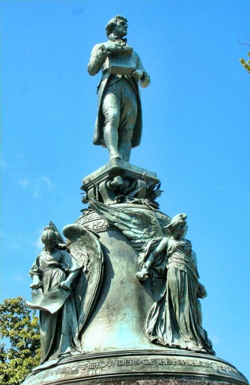 statue bronze allegorical