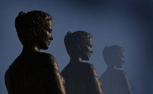 statula,figūra,biustas,veidas,bronza,skulptūra,menas,galva,bronzos statula,Lady,tiefenschärfe,metalas,pilka