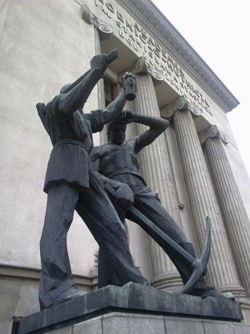 statue krakow university