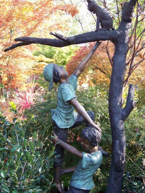 statue bronze garden statue