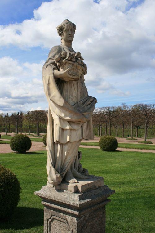 Statue At Peterhof, St Petersburg
