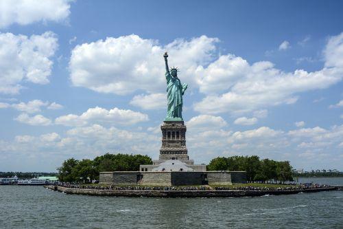 statue of liberty liberty island new york harbor