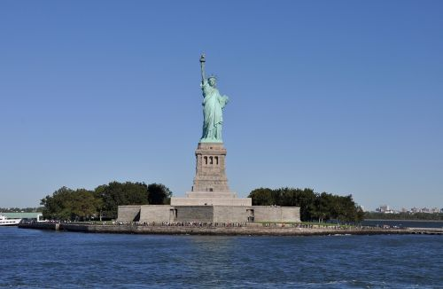statue of liberty liberty island new york city