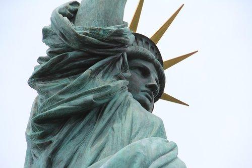 statue of liberty  tokyo  japan