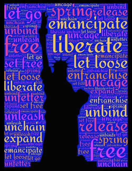 statue of liberty liberty liberate