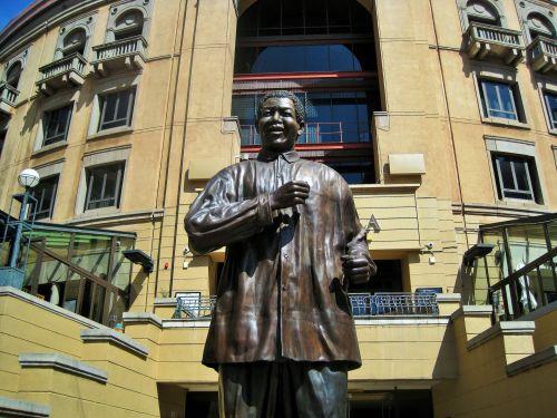 Statue Of President Nelson Mandela