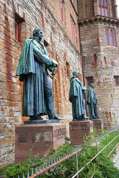 statues hohenzollern bronze statues