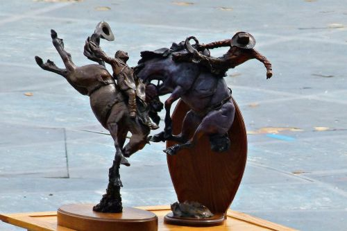 statues calgary stampede