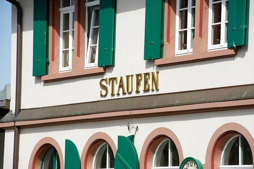 staufen  historic center  house of hohenstaufen