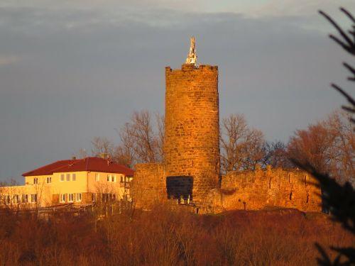 staufeneck castle keep