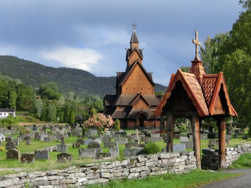 stave church church norway