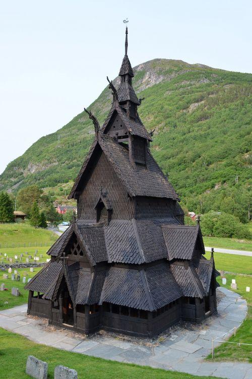 stave church borgund norway