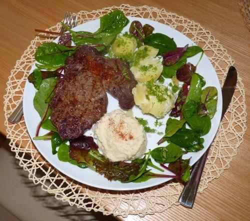 steak rib-eye steak dish