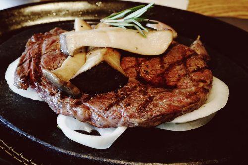 steak meat dining