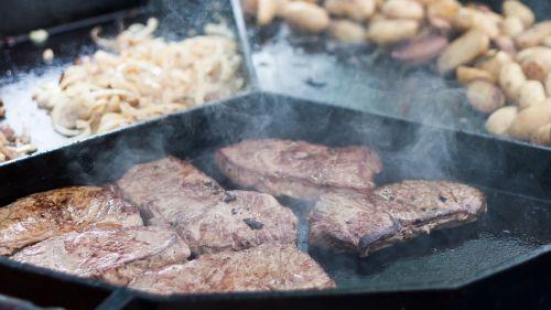 steak eat pan