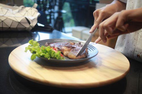 steak beef steak food
