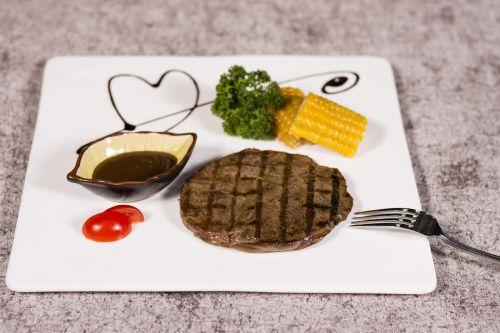steak fast food fork