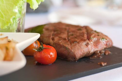 steak food grilled