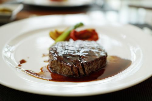 steak rest assured in the evening