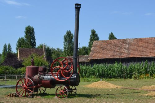steam old machine bournat