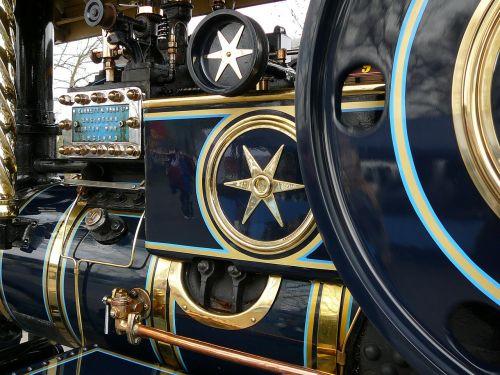 steam engine oldtimer historically