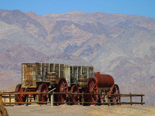 steam engine death valley train