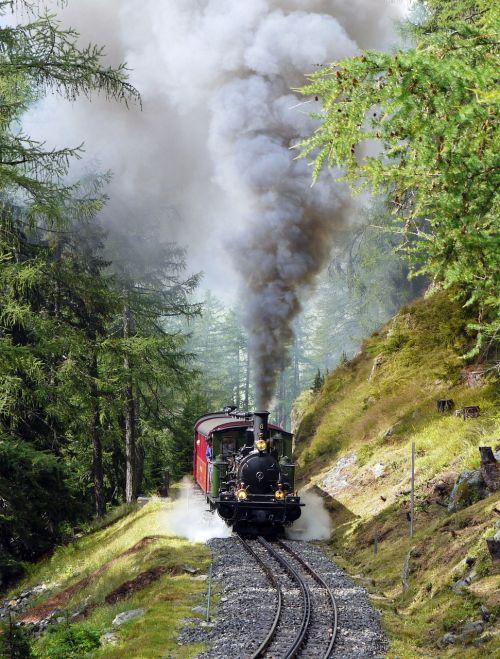 steam locomotive narrow gauge rack railway