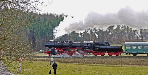 steam locomotive steam train mountain ride