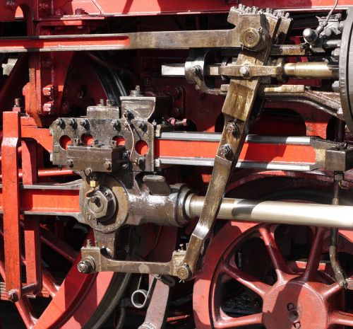 steam locomotive engine drive