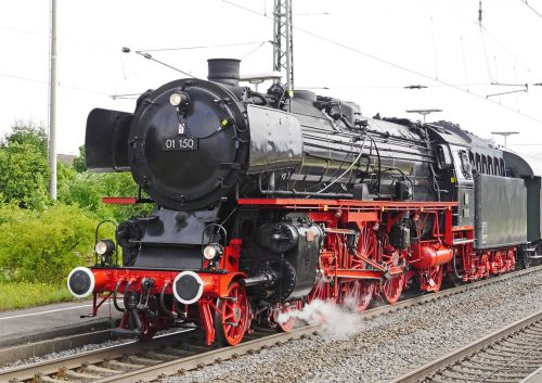 steam locomotive restored famous