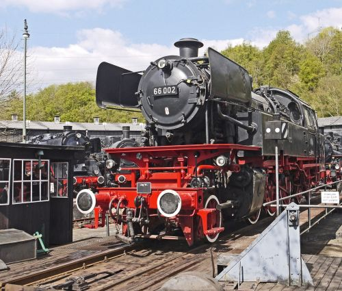steam locomotive star museum