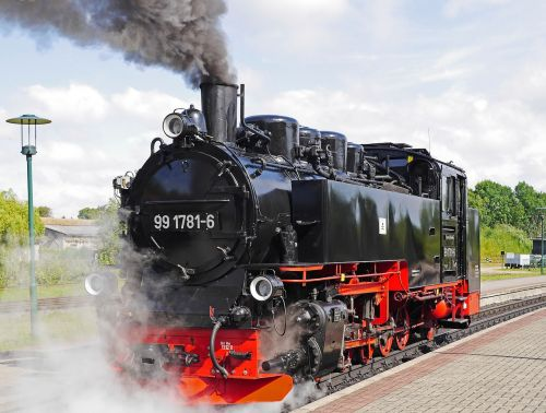 steam locomotive rasender roland rügen