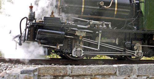 steam locomotive engine rack railway