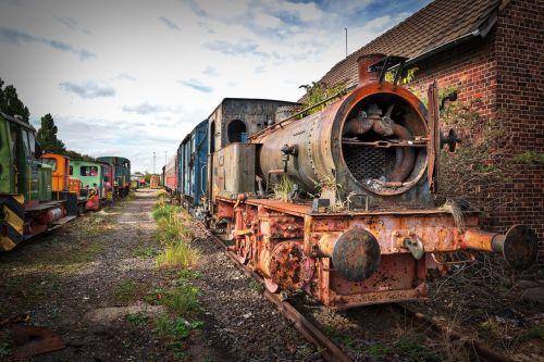 steam locomotive nostalgic train