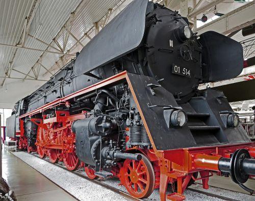 steam locomotive express train br 01