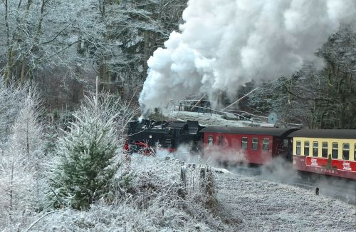 steam locomotive schmalspurbahn harzer resin